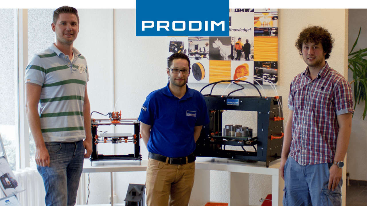 Prodim 3D Printer gebruiker Huijbregts Food