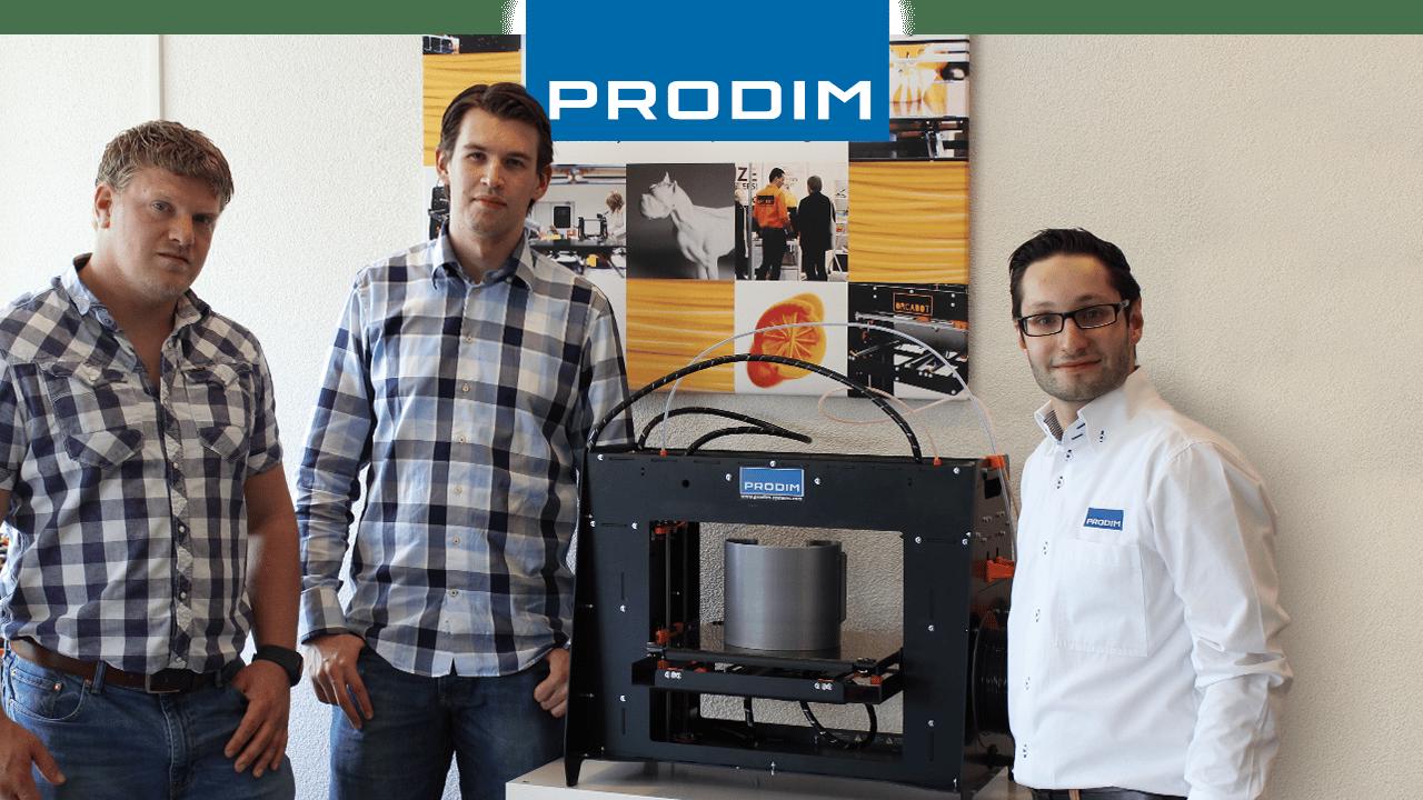 Prodim 3D Printer gebruiker Walraven