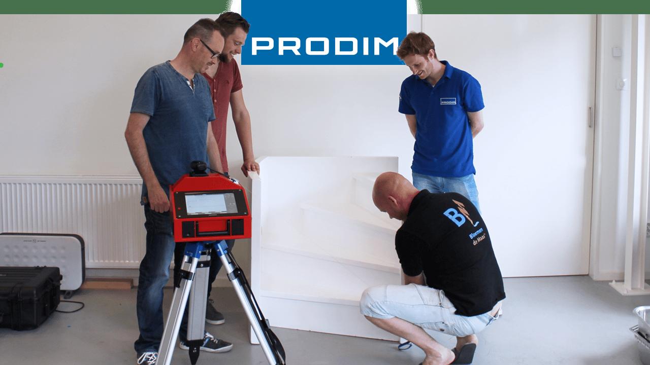 Prodim Proliner gebruiker Bloemen de Maas