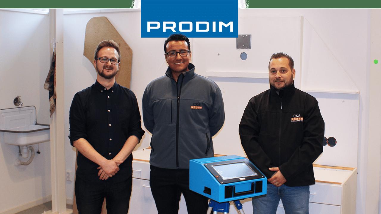 Prodim Proliner gebruiker C&A Stone installers