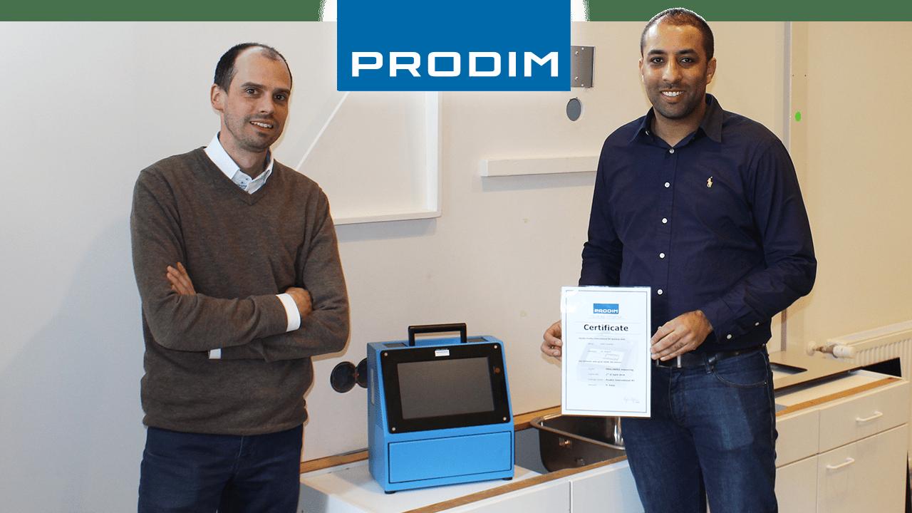 Prodim Proliner gebruiker Granitz