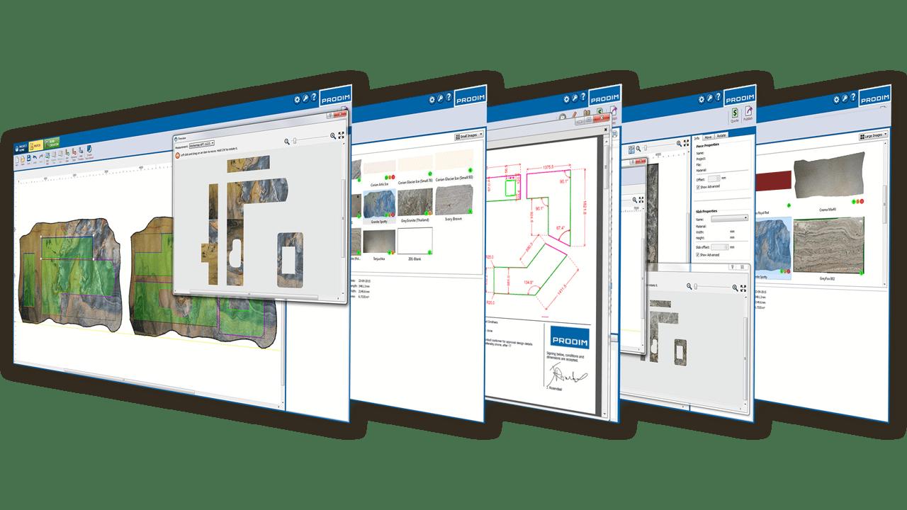 Schermafbeeldingen - Prodim Factory software