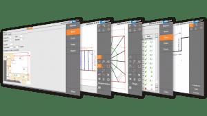 Schermafbeelding - Prodim Proliner Stairs software