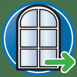 Knop - Ga naar onze webpagina met oplossingen voor deuren, ramen en frames