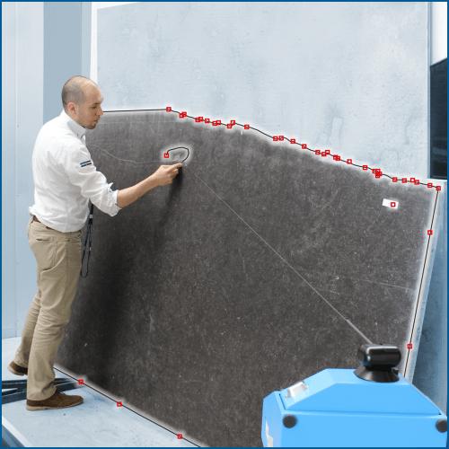 Knop – Bezoek de Prodim webpagina met oplossingen voor de steenindustrie