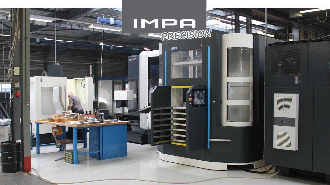 IMPA Precision – 3- en 5-assig frezen