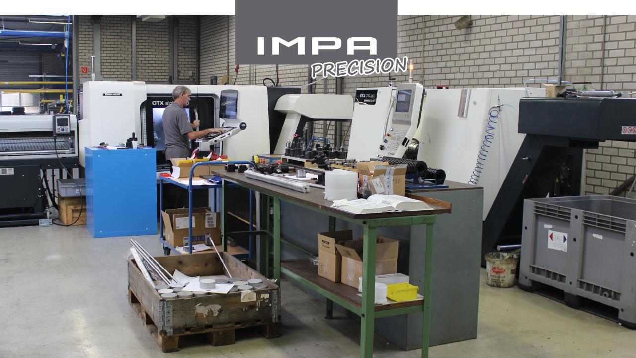 IMPA Precision – Draaibanken met aangedreven gereedschappen