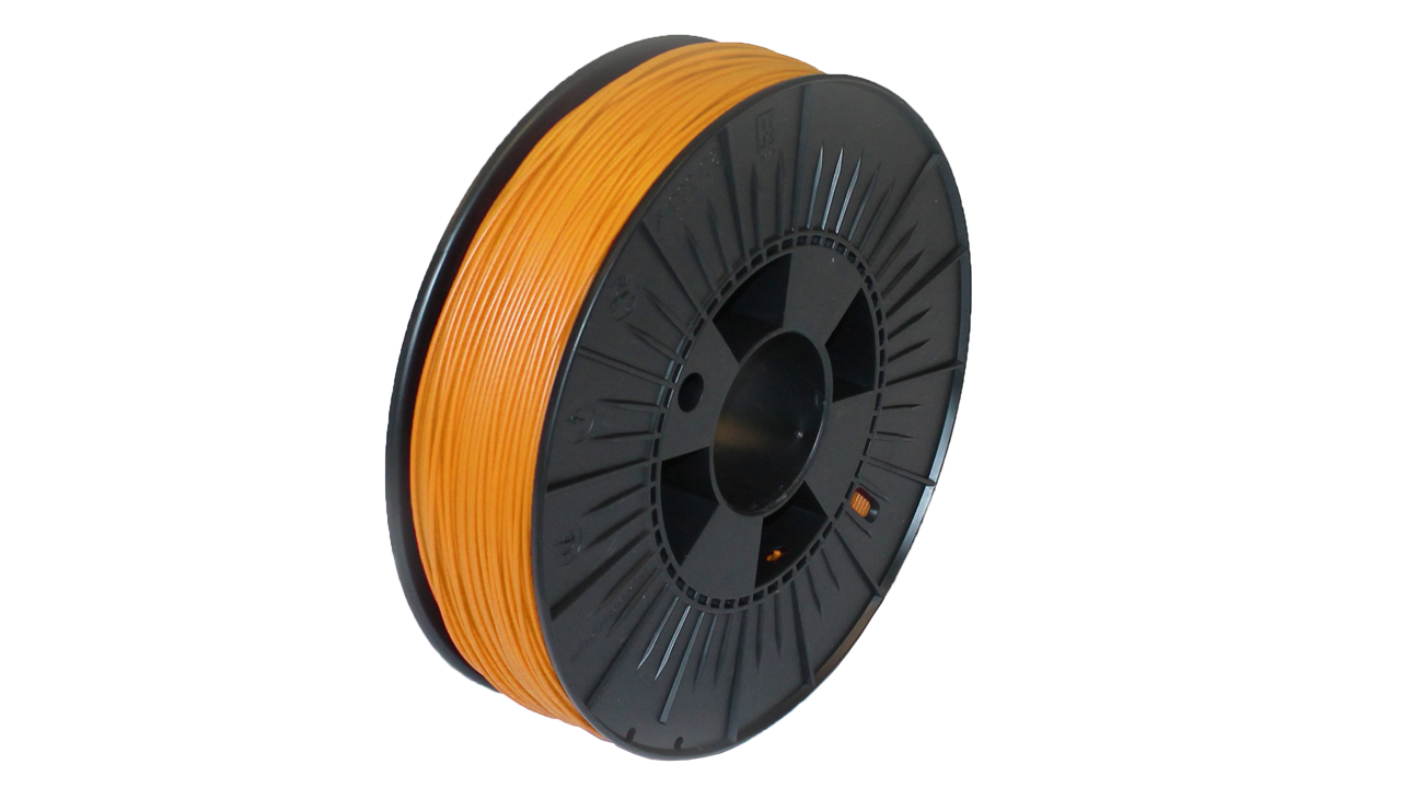Prodim - Orcabot 3D Printer filament - PLA Orange sample