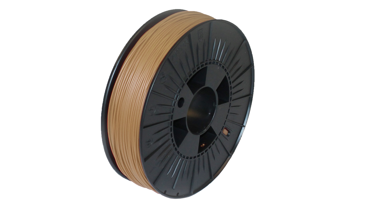 Prodim - Orcabot 3D Printer filament - Woodfill sample