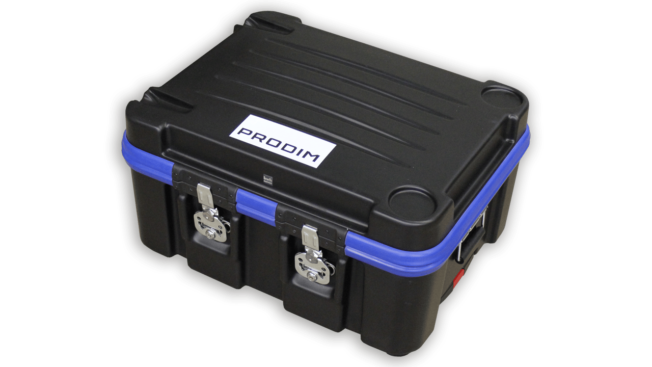 Prodim Proliner 10IS Flightcase - Gesloten