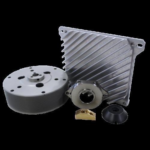 Afbeelding met verschillende productvoorbeelden die gemaakt zijn door machinebedrijf IMPA Precision – Onderdeel van de Prodim groep