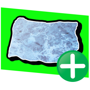 Icoon - Prodim Factory software – Slab Creator module – Toevoegen van unieke slabs met behulp van een vaste opstelling