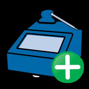 Icoon - Prodim Factory software – Slab Creator module – Toevoegen van unieke slabs met behulp van een flexibele opstelling