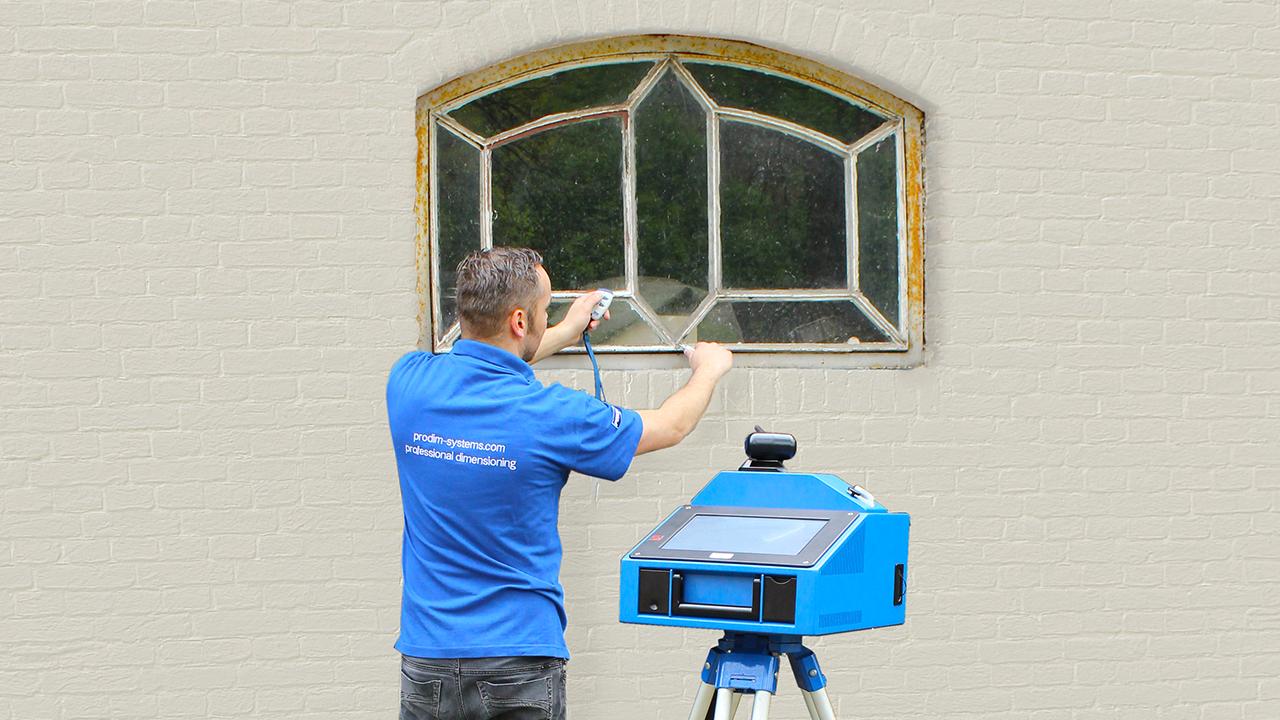 Prodim – Oplossingen voor de deuren- en ramenindustrie – Digitaal meten van ramen