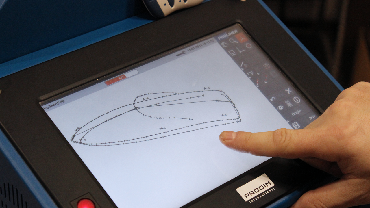 Prodim – Oplossingen voor de jachtbouw en maritieme industrie – Digitaal meten van boten