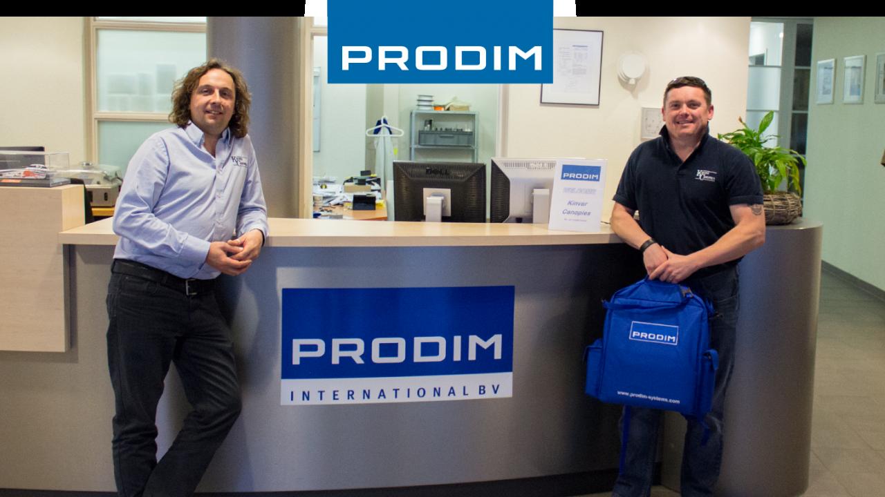 Prodim Proliner gebruiker Kinver Canopies