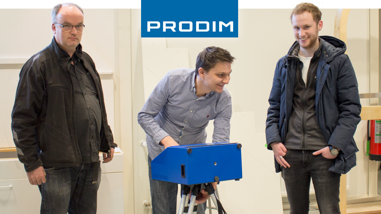 Prodim Proliner gebruiker Visser Spiegels & Glas