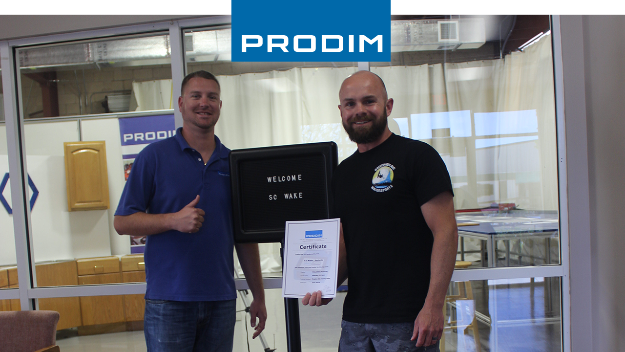 Prodim Proliner gebruiker SC Wake