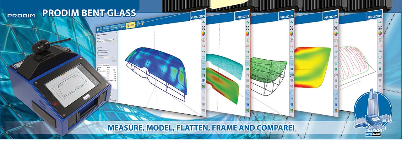 Slider - Prodim Bent Glass software. Klik om de webpagina te bezoeken voor meer informatie