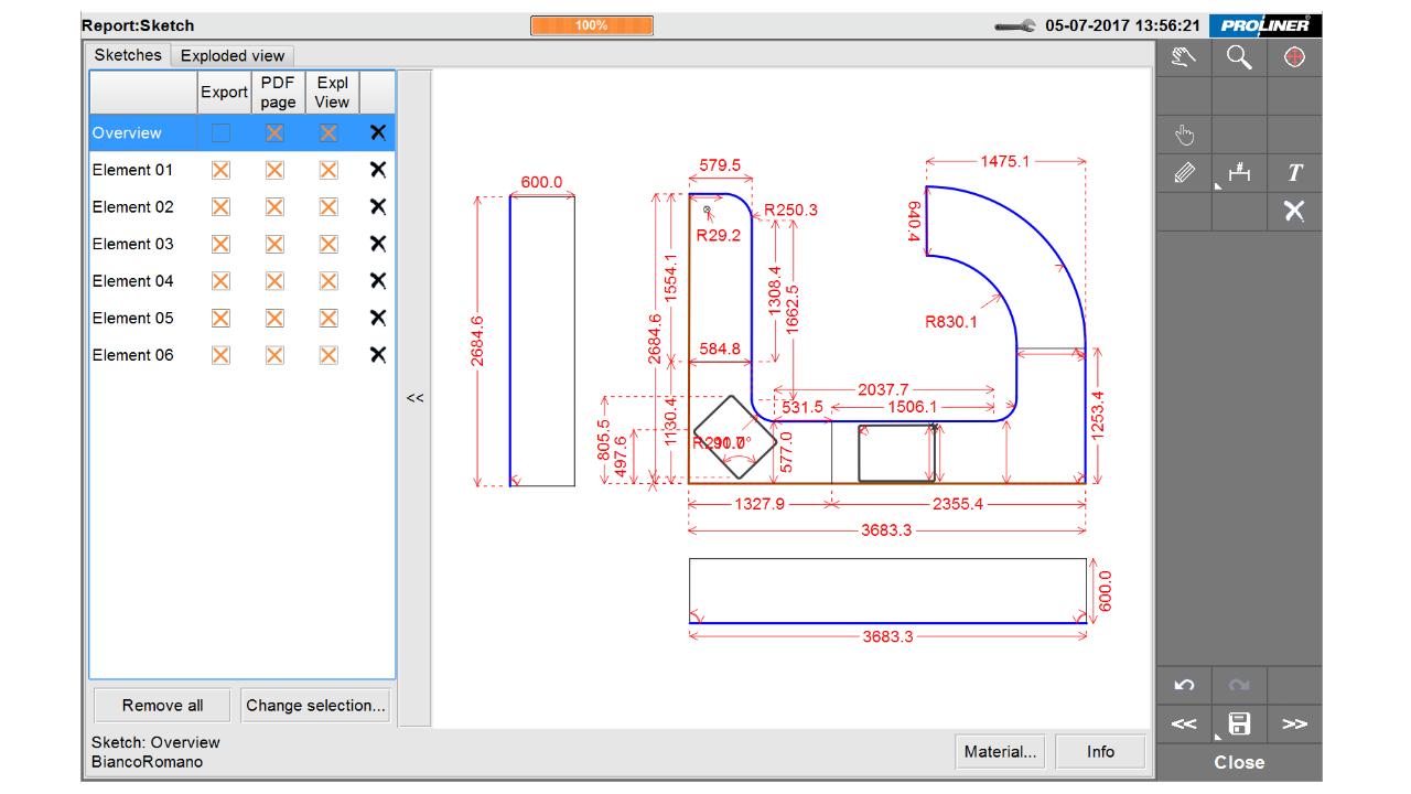 Schermafbeelding - Prodim Factory software - Edit CT
