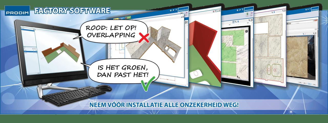 Slider - Prodim Factory software - Neem vóór installatie alle onzekerheid weg!