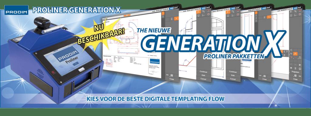 Slider - Prodim Proliner Generation X Pakketten - Kies voor de beste digitale template flow