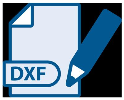 Icoon - Proliner software generation 4X - DXF-uitvoerformaten