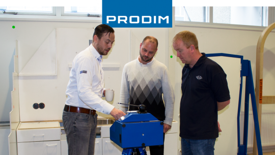 Prodim Proliner gebruiker Sunseeker International