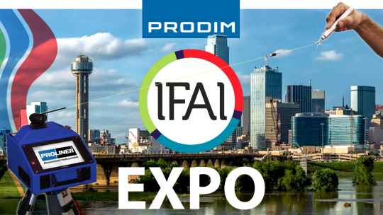 Bezoek Prodim op IFAI Expo 2018 in Dalles, TX USA - Booth 539