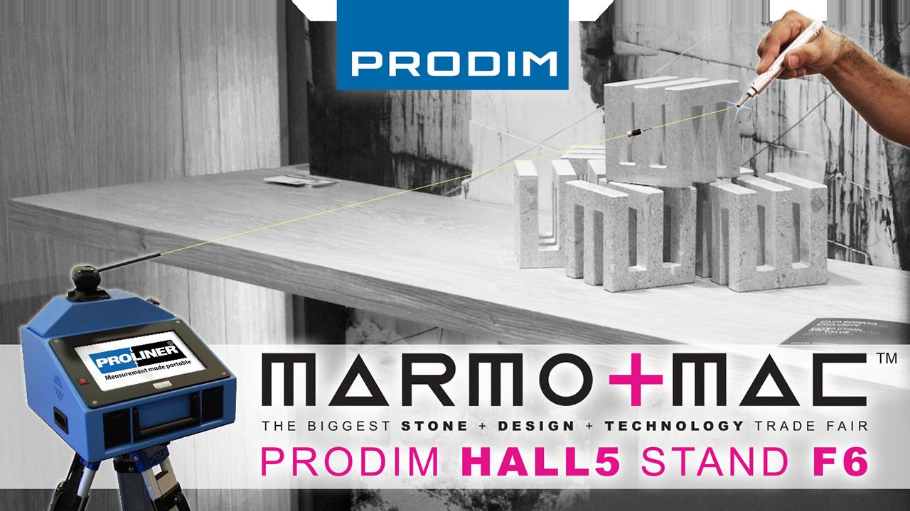 Bezoek Prodim op Marmomac 2018 in Verona (IT) - Hall 5 - Stand F6