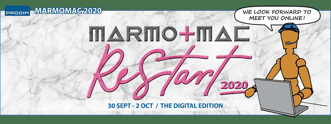 Slider - Prodim is exhibiting at Marmomac ReStart 2020 - The Digital edition
