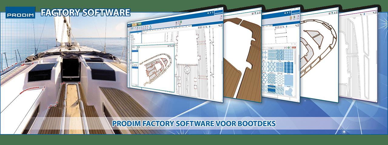 Slider - Factory software voor bootdeks