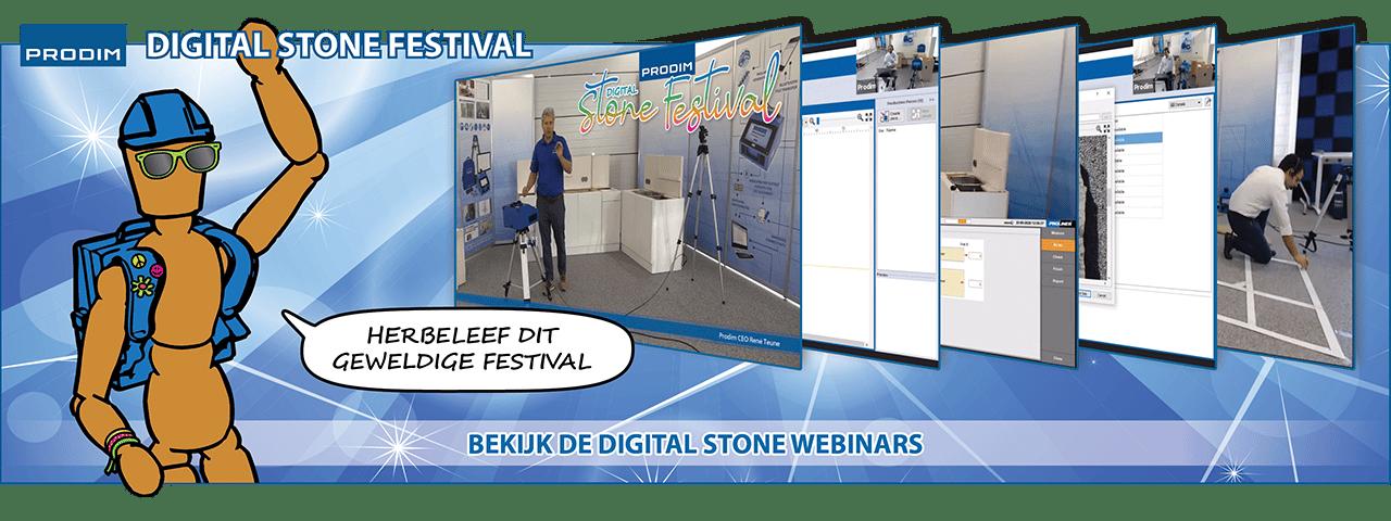 Slider - Herbeleef Prodim's Digital Stone Festival